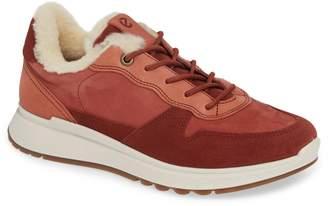 Ecco ST1 Genuine Shearling Sneaker