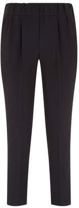 Brunello Cucinelli Cropped Slim Tailored Trousers