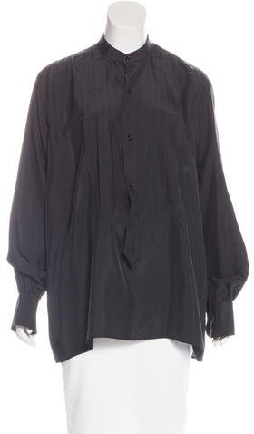 Tom Ford Silk Long Sleeve Blouse