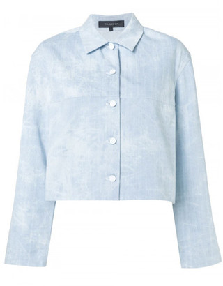 Thakoon cropped denim jacket
