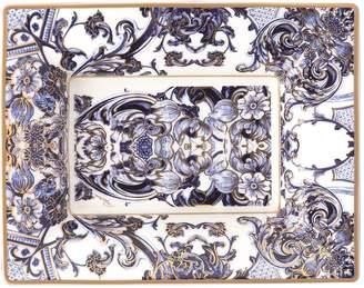 Roberto Cavalli Home Azulejos Rectangular Tidy Tray