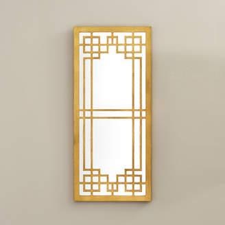 Willa Arlo Interiors Modern Gold Leaf Wall Mirror