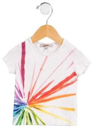 Junior Gaultier Girls' Printed Rainbow Top