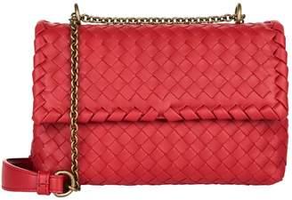 Bottega Veneta Baby Intrecciato Olimpia Shoulder Bag