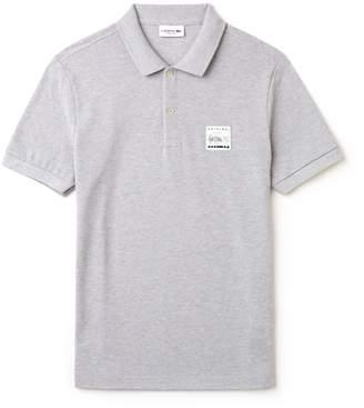 Lacoste Men's Regular Fit Patch Pique Polo