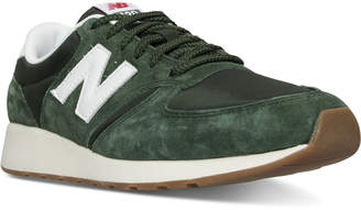 New Balance Men's 420 Pig Suede Casual Sneakers from Finish Line $84.99 thestylecure.com