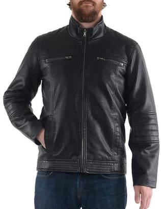 Buffalo David Bitton Polyurethane Leather Jacket