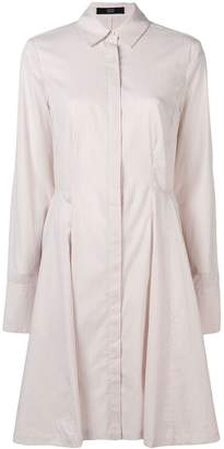 Steffen Schraut pinstripe shirt dress