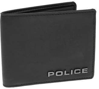 Police Mens Opaco Wallet Tonal Stitching