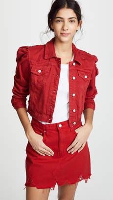 Blank Shrunken Denim Jacket