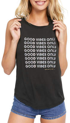 Spiritual Gangster Good Vibes Only Muscle Tank