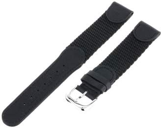 Victorinox Hadley-Roma Men's MSM866LA 180 18-mm 'Swiss-Army' Style Nylon and Leather Watch Strap