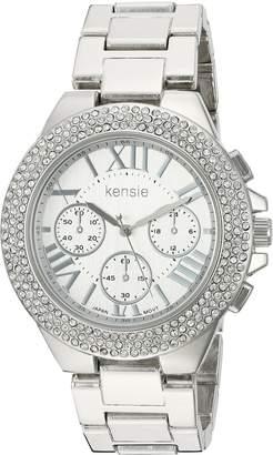 Kensie Women's Quartz Metal and Alloy Casual Watch, Color:-Toned (Model: KEN5095)