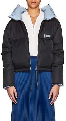 Prada Women's Contrast-Interior Puffer Jacket