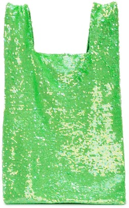 Ashish sequin slouchy tote