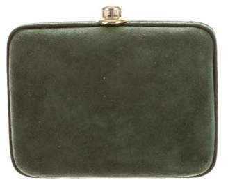 Mark Cross Suede Clutch