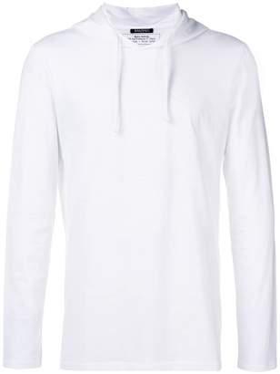Balmain medallion print hoodie