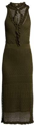 Altuzarra Butterfield pointelle-knit dress