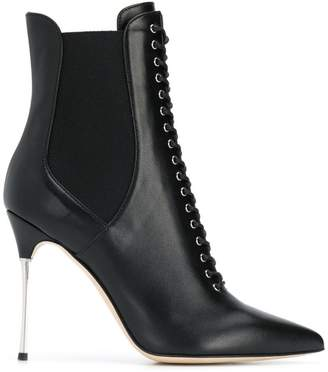 Sergio Rossi stiletto ankle boots