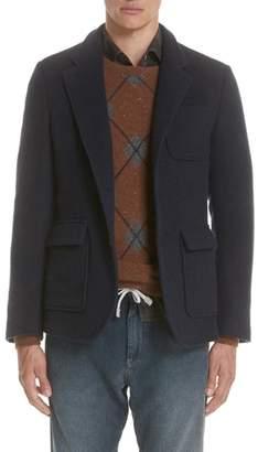 Eleventy Wool & Cashmere Coat