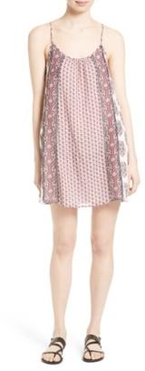 Women's Soft Joie 'Jorell B' Block Print Cotton Slipdress $248 thestylecure.com