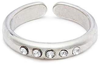 Philippe Audibert 'Kim' Swarovski crystal open ring