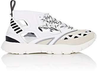 Valentino Men's Heroes Reflex Knit Sneakers - White
