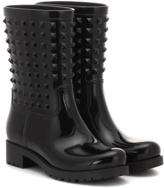 Valentino rubber rain ankle boots