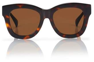 Blanc Eclare Rome Honey Tortoise With Solid Brown Lens