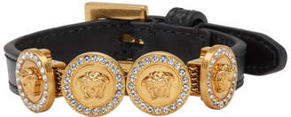 Versace Gold and Black Tribute Bracelet