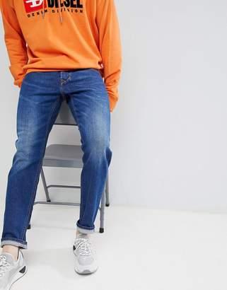 Diesel Larkee-beex regular tapered jeans 084YI