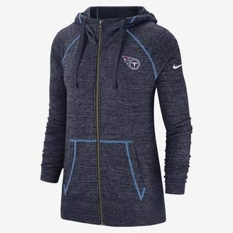 Nike Women's Full-Zip Hoodie Gym Vintage (NFL Titans)