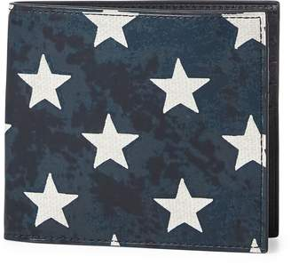 Ralph Lauren Star-Spangled Leather Wallet