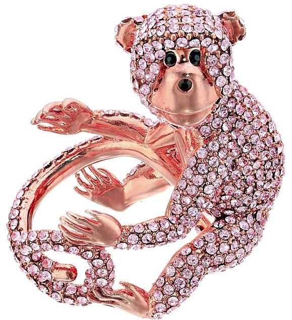 Kate SpadeKate Spade New York - Rambling Roses Monkey Ring Ring