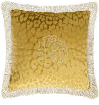 Roberto Cavalli Monogram Cushion