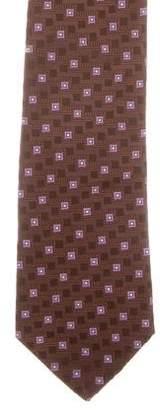 Valentino Patterned Silk Tie