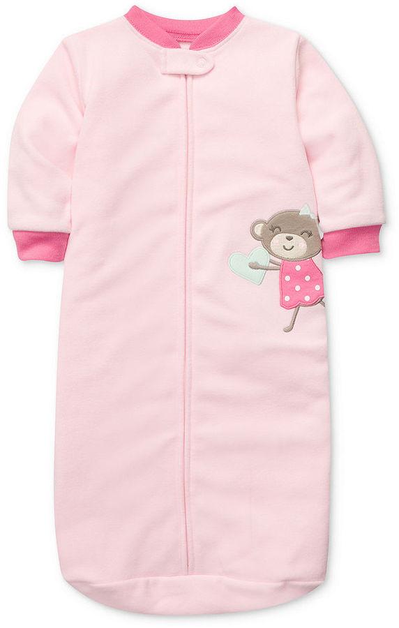 Carter's Baby One-Piece, Baby Girls Microfleece Sleeping Bag