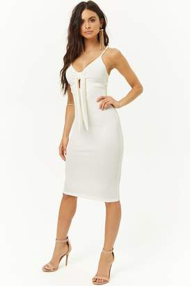 Forever 21 Tie-Front Cami Dress