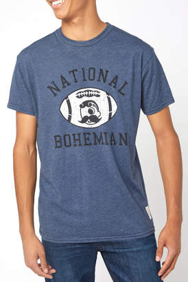 Original Retro Brand National Bohemian Football Graphic Tee