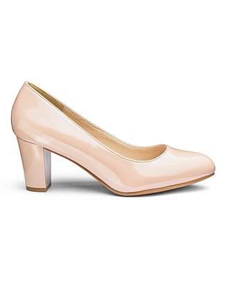 46b5045c95b Heavenly Soles Comfort Court Shoes E Fit