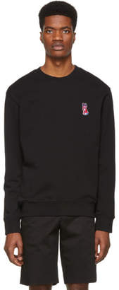 MAISON KITSUNÉ Black Acide Fox Patch Sweatshirt