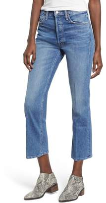 Mother The Tripper Crop Bootcut Jeans