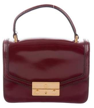 Tory Burch Leather Juliette Top Handle Satchel