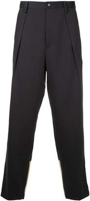 GUILD PRIME metallic panel trousers