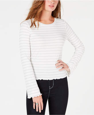 American Rag Juniors' Lace-Up Top, Created for Macy's