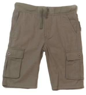 Beverly Hills Polo Club Boys' School Uniform Pull On Twill Cargo Short