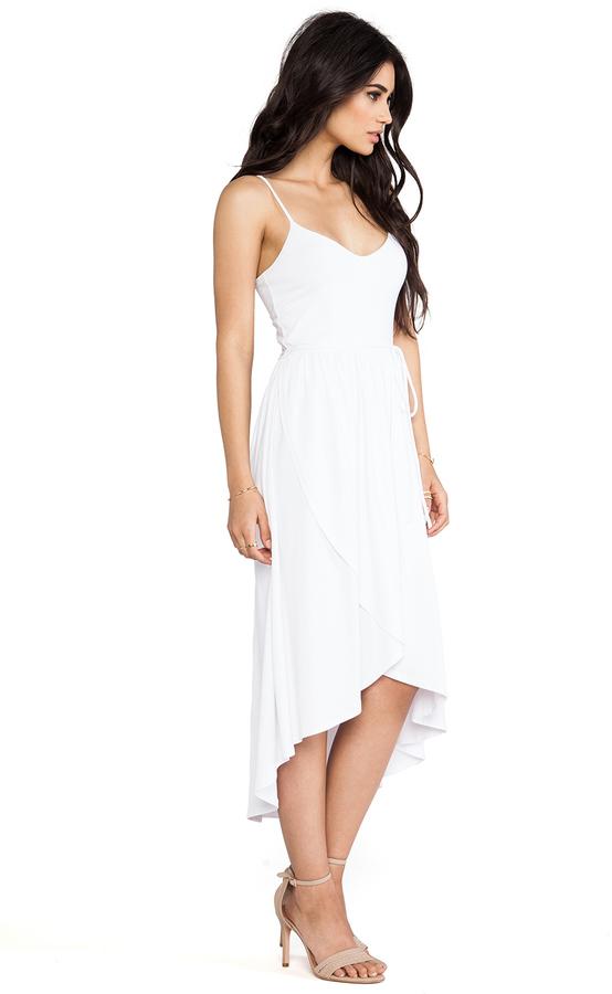 "Susana Monaco Light Supplex Taylor 22-34"" Dress"