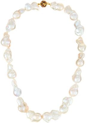 Murano Belpearl White Baroque Pearl Necklace