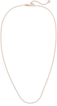 Monica Vinader Rolo 24'' Rose Gold Vermeil Chain