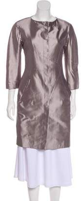 Christian Dior Tailored Silk Coat